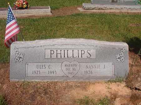 PHILLIPS, ULES C - Hempstead County, Arkansas | ULES C PHILLIPS - Arkansas Gravestone Photos