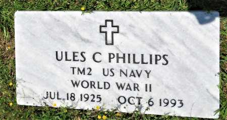 PHILLIPS (VETERAN KOR), ULES C - Hempstead County, Arkansas | ULES C PHILLIPS (VETERAN KOR) - Arkansas Gravestone Photos