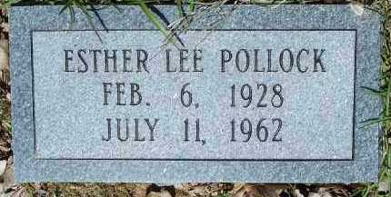 POLLOCK, ESTHER LEE - Hempstead County, Arkansas | ESTHER LEE POLLOCK - Arkansas Gravestone Photos