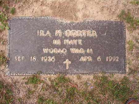 PORTER (VETERAN WWII), IRA H - Hempstead County, Arkansas | IRA H PORTER (VETERAN WWII) - Arkansas Gravestone Photos