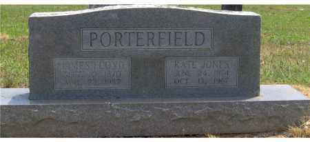 JONES PORTERFIELD, KATE - Hempstead County, Arkansas | KATE JONES PORTERFIELD - Arkansas Gravestone Photos