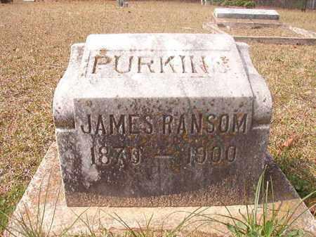 PURKINS, JAMES RANSOM - Hempstead County, Arkansas | JAMES RANSOM PURKINS - Arkansas Gravestone Photos