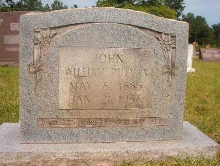 PUTMAN, JOHN WILLIAM - Hempstead County, Arkansas | JOHN WILLIAM PUTMAN - Arkansas Gravestone Photos