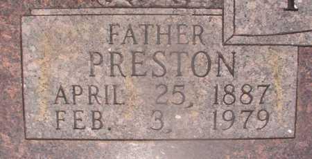 PUTMAN, PRESTON (CLOSEUP) - Hempstead County, Arkansas | PRESTON (CLOSEUP) PUTMAN - Arkansas Gravestone Photos