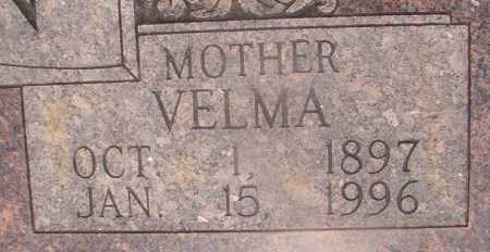 PUTMAN, VELMA (CLOSEUP) - Hempstead County, Arkansas | VELMA (CLOSEUP) PUTMAN - Arkansas Gravestone Photos