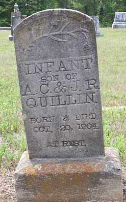 QUILLIN, INFANT SON - Hempstead County, Arkansas | INFANT SON QUILLIN - Arkansas Gravestone Photos