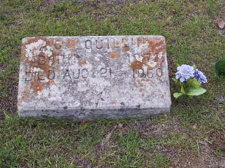 QUILLIN, AUGUSTUS CICERO - Hempstead County, Arkansas | AUGUSTUS CICERO QUILLIN - Arkansas Gravestone Photos