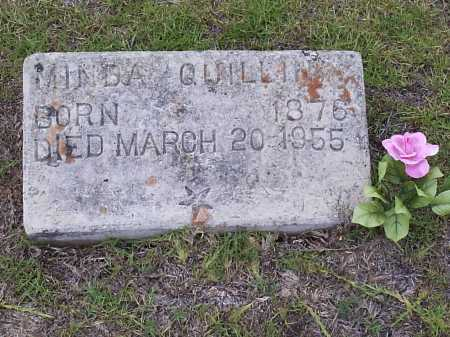 QUILLIN, JOANNA ARMINDA - Hempstead County, Arkansas | JOANNA ARMINDA QUILLIN - Arkansas Gravestone Photos