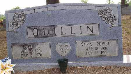 POWELL QUILLIN, VERA OCIE - Hempstead County, Arkansas | VERA OCIE POWELL QUILLIN - Arkansas Gravestone Photos