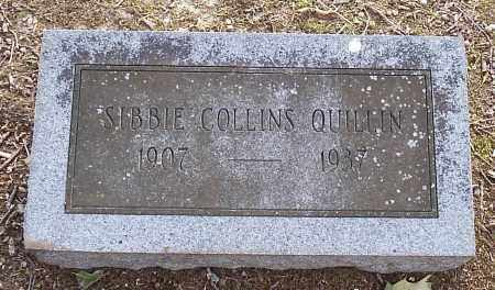 COLLINS QUILLIN, SIBBIE - Hempstead County, Arkansas | SIBBIE COLLINS QUILLIN - Arkansas Gravestone Photos