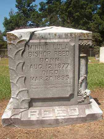 BISHOP REED, MINNIE LULA - Hempstead County, Arkansas | MINNIE LULA BISHOP REED - Arkansas Gravestone Photos