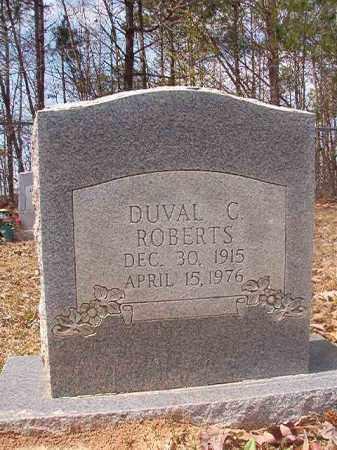 ROBERTS, DUVAL C - Hempstead County, Arkansas | DUVAL C ROBERTS - Arkansas Gravestone Photos