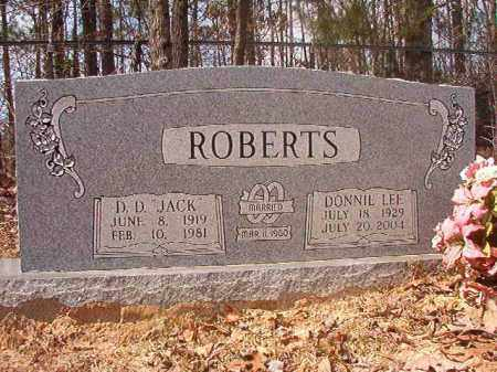 ROBERTS, DONNIE LEE - Hempstead County, Arkansas | DONNIE LEE ROBERTS - Arkansas Gravestone Photos