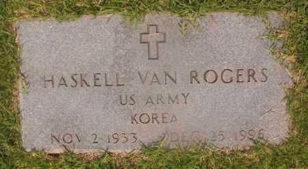 ROGERS (VETERAN KOR), HASKELL VAN - Hempstead County, Arkansas | HASKELL VAN ROGERS (VETERAN KOR) - Arkansas Gravestone Photos