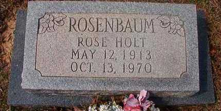 HOLT ROSENBAUM, ROSE - Hempstead County, Arkansas | ROSE HOLT ROSENBAUM - Arkansas Gravestone Photos