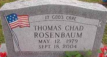 ROSENBAUM, THOMAS CHAD - Hempstead County, Arkansas | THOMAS CHAD ROSENBAUM - Arkansas Gravestone Photos