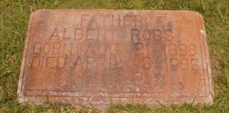 ROSS, ALBERT - Hempstead County, Arkansas | ALBERT ROSS - Arkansas Gravestone Photos