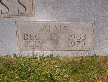 ROSS, ALMA (CLOSEUP) - Hempstead County, Arkansas | ALMA (CLOSEUP) ROSS - Arkansas Gravestone Photos
