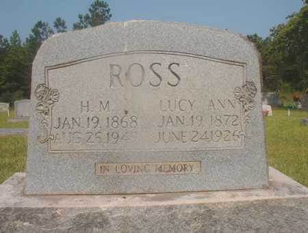 ROSS, H M - Hempstead County, Arkansas | H M ROSS - Arkansas Gravestone Photos