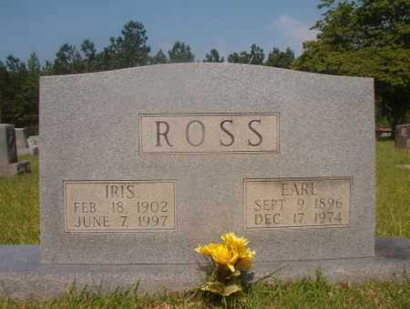 ROSS, IRIS - Hempstead County, Arkansas | IRIS ROSS - Arkansas Gravestone Photos
