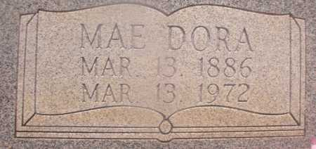 ROSS, MAE DORA (CLOSEUP) - Hempstead County, Arkansas | MAE DORA (CLOSEUP) ROSS - Arkansas Gravestone Photos