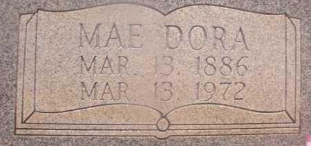 ROSS, MAE DORA (CLOSEUP) - Hempstead County, Arkansas | MAE DORA (CLOSEUP) ROSS - Arkansas Gravestone Photos