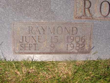 ROSS, RAYMOND (CLOSEUP) - Hempstead County, Arkansas | RAYMOND (CLOSEUP) ROSS - Arkansas Gravestone Photos
