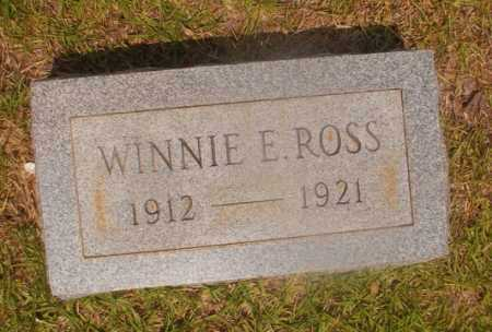 ROSS, WINNIE E - Hempstead County, Arkansas | WINNIE E ROSS - Arkansas Gravestone Photos
