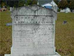 ROTHWELL, JOHN - Hempstead County, Arkansas | JOHN ROTHWELL - Arkansas Gravestone Photos