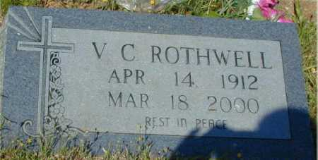 ROTHWELL, V C - Hempstead County, Arkansas | V C ROTHWELL - Arkansas Gravestone Photos