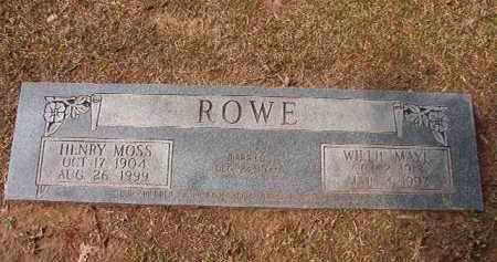 ROWE, WILLIE MAYE - Hempstead County, Arkansas | WILLIE MAYE ROWE - Arkansas Gravestone Photos