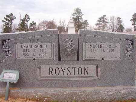 ROYSTON, GRANDISON D - Hempstead County, Arkansas | GRANDISON D ROYSTON - Arkansas Gravestone Photos