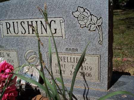 RUSHING, NELLIE P (CLOSEUP) - Hempstead County, Arkansas | NELLIE P (CLOSEUP) RUSHING - Arkansas Gravestone Photos