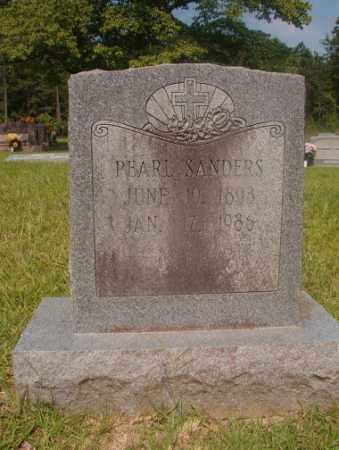 SANDERS, PEARL - Hempstead County, Arkansas | PEARL SANDERS - Arkansas Gravestone Photos