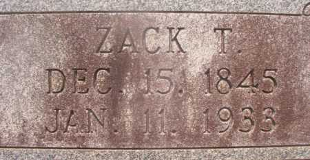 SANDERS, ZACK T - Hempstead County, Arkansas | ZACK T SANDERS - Arkansas Gravestone Photos