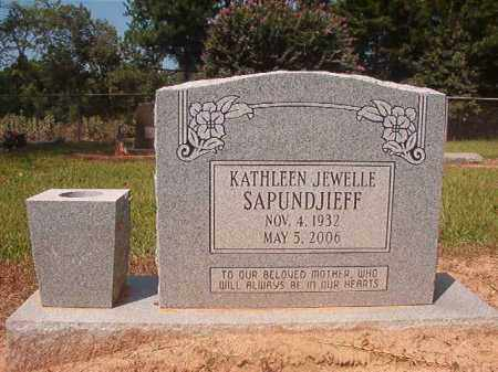 SAPUNDJIEFF, KATHLEEN JEWELLE - Hempstead County, Arkansas | KATHLEEN JEWELLE SAPUNDJIEFF - Arkansas Gravestone Photos