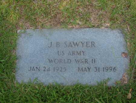 SAWYER (VETERAN WWII), J B - Hempstead County, Arkansas | J B SAWYER (VETERAN WWII) - Arkansas Gravestone Photos