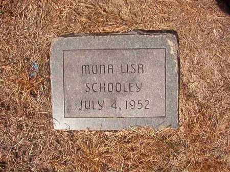SCHOOLEY, MONA LISA - Hempstead County, Arkansas | MONA LISA SCHOOLEY - Arkansas Gravestone Photos