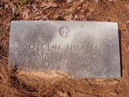 SHERMAN, JOYCE M - Hempstead County, Arkansas | JOYCE M SHERMAN - Arkansas Gravestone Photos