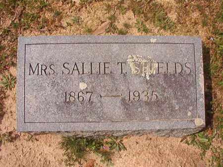SHIELDS, SALLIE T, MRS - Hempstead County, Arkansas | SALLIE T, MRS SHIELDS - Arkansas Gravestone Photos