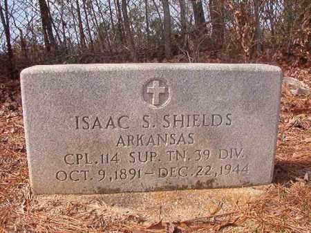 SHIELDS (VETERAN), ISAAC S - Hempstead County, Arkansas | ISAAC S SHIELDS (VETERAN) - Arkansas Gravestone Photos