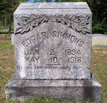 SIMMONS, EDGAR - Hempstead County, Arkansas | EDGAR SIMMONS - Arkansas Gravestone Photos