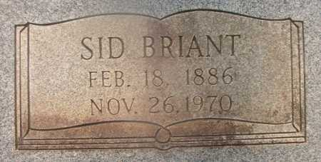 SKINNER, SID BRIANT (CLOSEUP) - Hempstead County, Arkansas | SID BRIANT (CLOSEUP) SKINNER - Arkansas Gravestone Photos