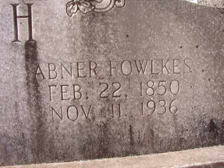 SMITH, ABNER FOWLKES (CLOSE UP) - Hempstead County, Arkansas | ABNER FOWLKES (CLOSE UP) SMITH - Arkansas Gravestone Photos
