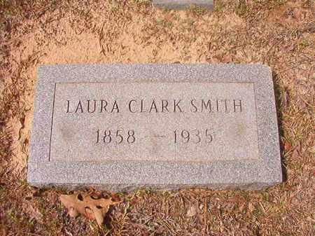 CLARK SMITH, LAURA - Hempstead County, Arkansas | LAURA CLARK SMITH - Arkansas Gravestone Photos