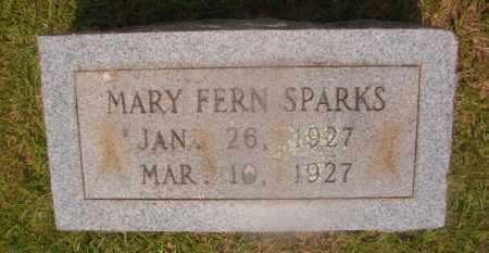SPARKS, MARY FERN - Hempstead County, Arkansas | MARY FERN SPARKS - Arkansas Gravestone Photos