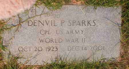 SPARKS (VETERAN WWII), DENVIL P - Hempstead County, Arkansas | DENVIL P SPARKS (VETERAN WWII) - Arkansas Gravestone Photos