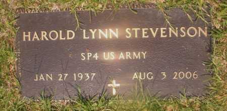 STEVENSON (VETERAN), HAROLD LYNN - Hempstead County, Arkansas | HAROLD LYNN STEVENSON (VETERAN) - Arkansas Gravestone Photos