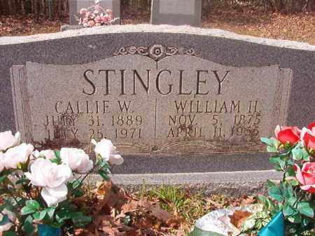 STINGLEY, WILLIAM H - Hempstead County, Arkansas | WILLIAM H STINGLEY - Arkansas Gravestone Photos