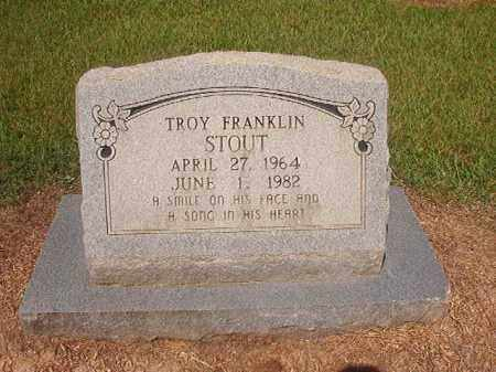 STOUT, TROY FRANKLIN - Hempstead County, Arkansas | TROY FRANKLIN STOUT - Arkansas Gravestone Photos